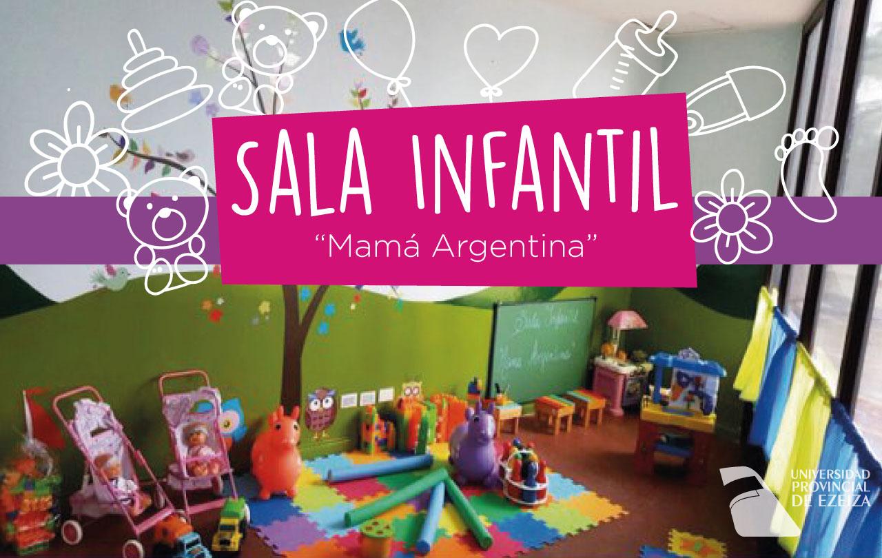 """Sala Infantil """"Mamá Argentina"""""""