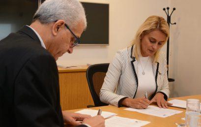 Firma Convenio marco entre la UPE y la JIAAC