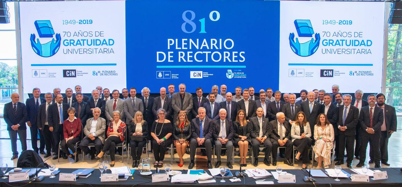 81° Plenario de Rectores del CIN