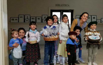Los más chicos celebraron la semana de la Patria