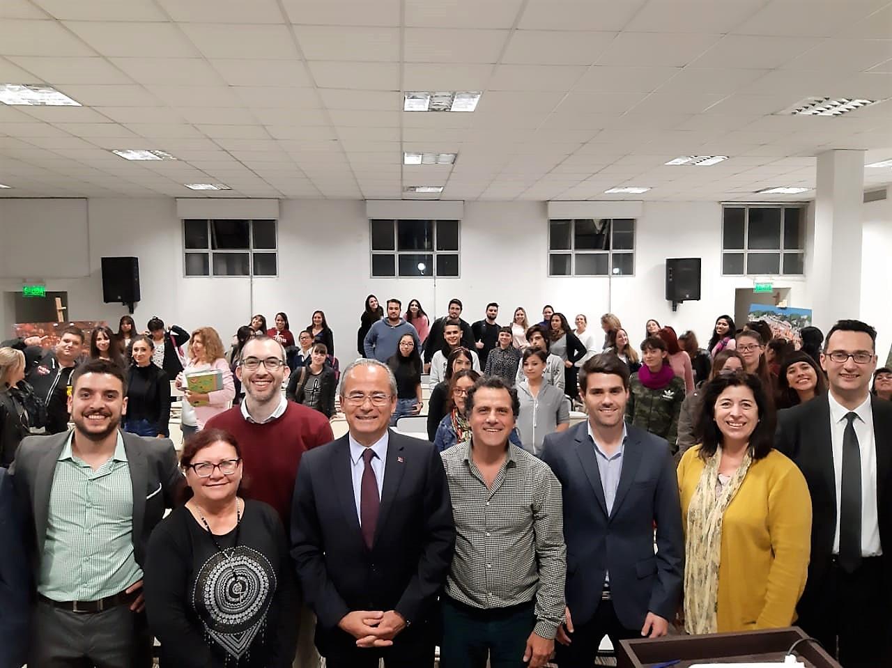 Visita del Embajador de Turquía
