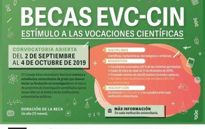 BECAS EVC-CIN 2019