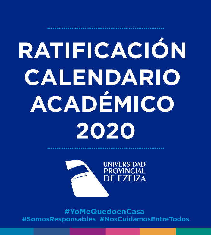 Ratificación Calendario Académico 2020