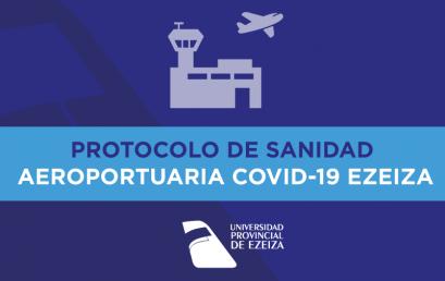 Protocolo de Sanidad Aeroportuaria