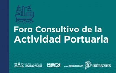 1° Foro Consultivo de la Actividad Portuaria