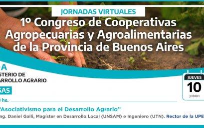 La UPE en el 1° Congreso de Desarrollo Agrario de PBA