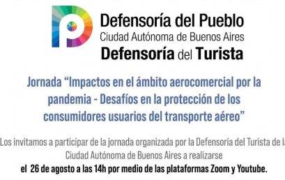 La UPE en las Jornadas virtuales de la Defensoría del Turista de CABA