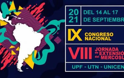 La UPE en el IX Congreso Nacional de Extensión Universitaria